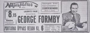 Annons i Aftonbladet 14 maj 1946.