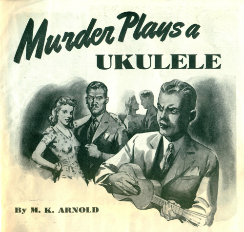 Murder plays a ukulele