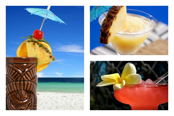 Tiki-Drink-Collage